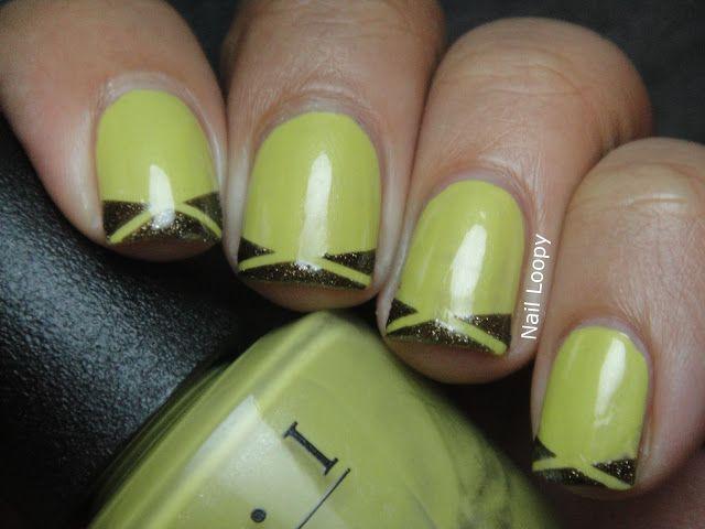 OPI DON\'T TALK BACH TO ME   uñas   Pinterest   Mani, Diseños de uñas ...