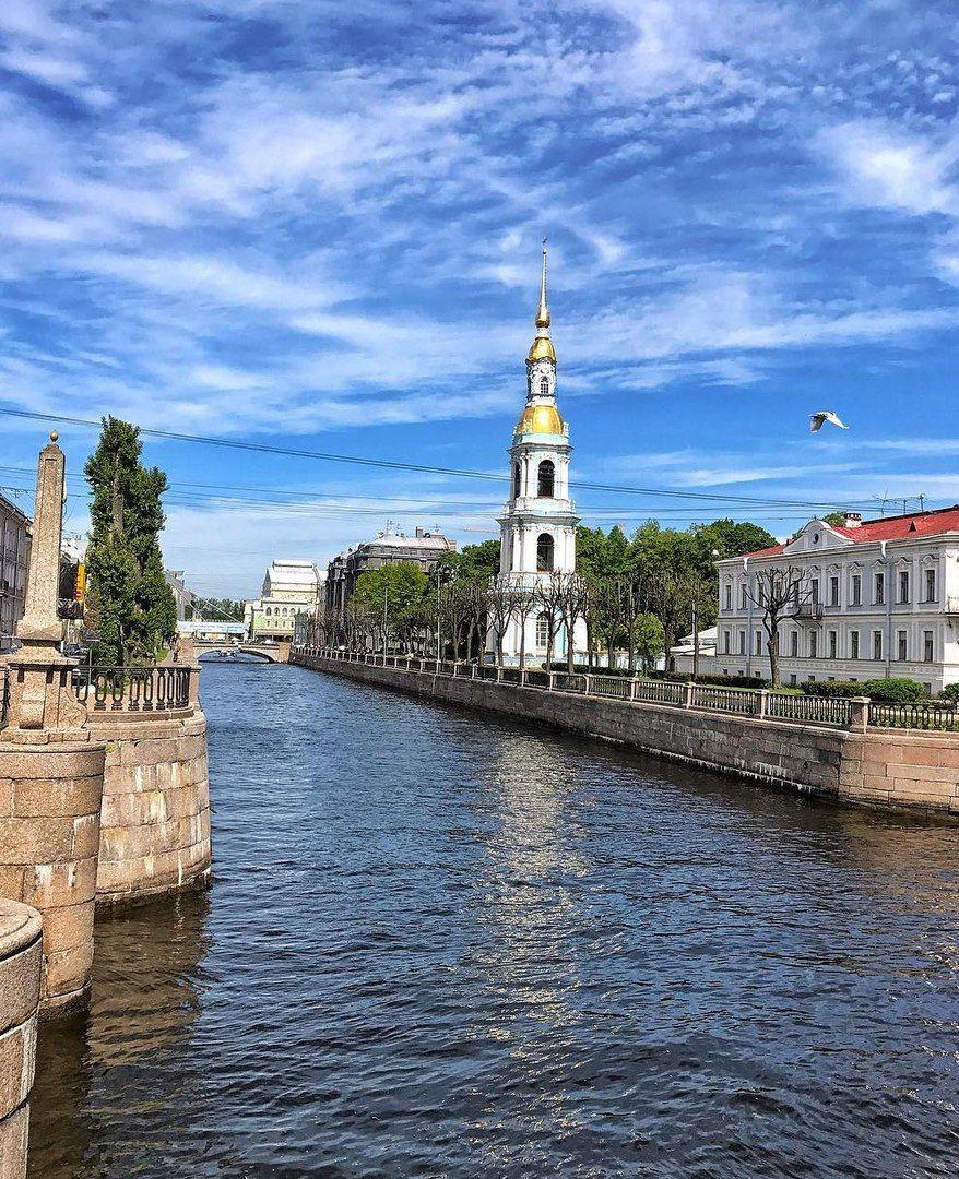 Крюков канал и колокольня Николо-Богоявленского собора ...