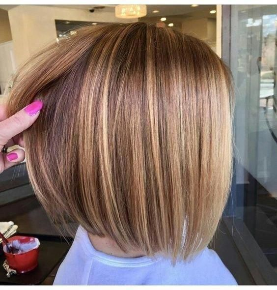 Best Trendy Short Bob Haircuts For Women Fashion 2d Mediumbobhaircuts Bobhairstyles Hair Styles Bob Hairstyles For Fine Hair Cool Hair Color