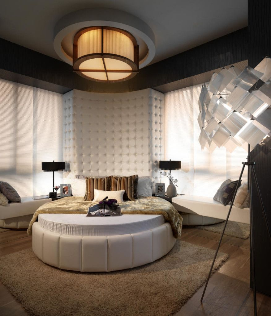 Master bedroom with 2 beds  Bedroom Decoration   DESİGN  Pinterest  Bedrooms
