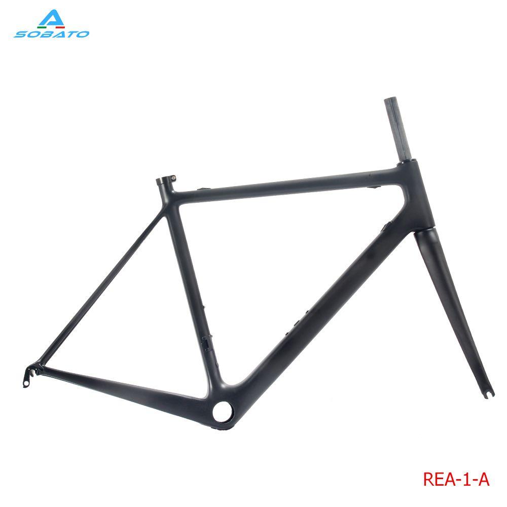 Carbon Road Bike Frame 2017 SOB Di2 and Mechanical 510/540/560mm ...