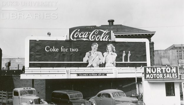 Coke for two 1949