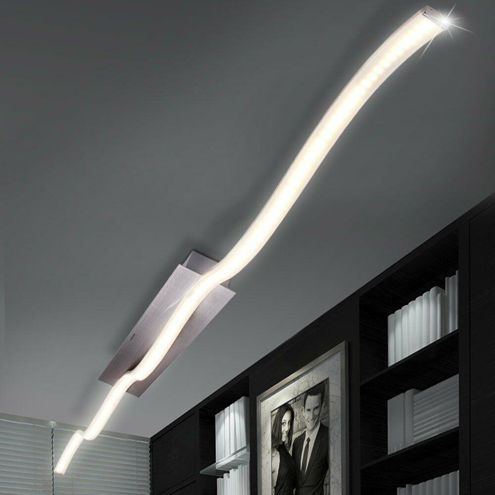 Led Decken Lampe Leuchte Beleuchtung Wohn Schlaf Ess Zimmer Wellen Design 12w In 2020 Deckenleuchten Design Lampe Deckenleuchte Schlafzimmer
