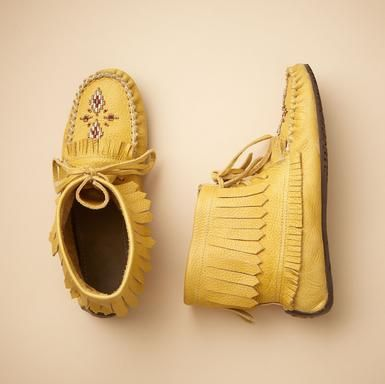 indian summer moccasins A moccasin in