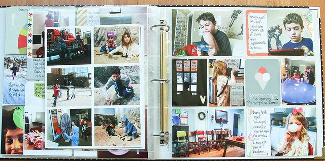 Project Life 2014 | Week 6 by Michelle Bostinelos, via Flickr
