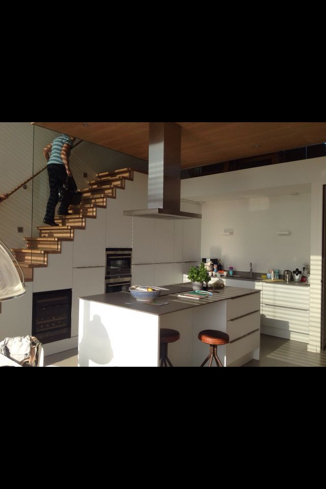 pin by susan f on kitchens with images kitchen under stairs stairs in kitchen stairs on kitchen under stairs id=31807