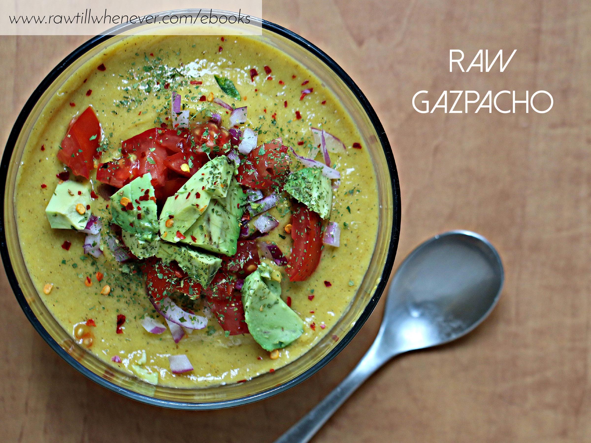 Raw gazpacho recipe featured from my raw vegan recipe book raw gazpacho recipe featured from my raw vegan recipe book ilikeitraw forumfinder Gallery