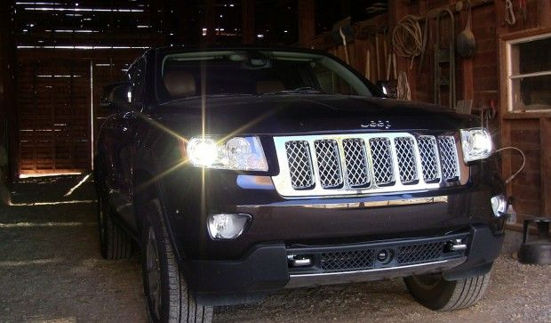 Off Road Champion 2012 Jeep Grand Cherokee Overland Summit Takes A Family On Holiday