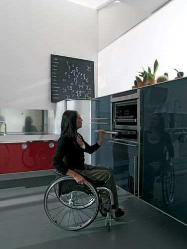 Hability Kitchen Design For Wheelchair Appliances Within Reach Part 63