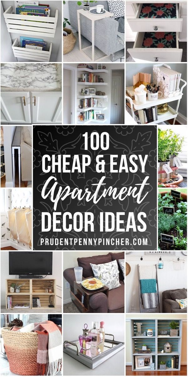 Photo of 100 Apartment Decorating Ideas on a Budget