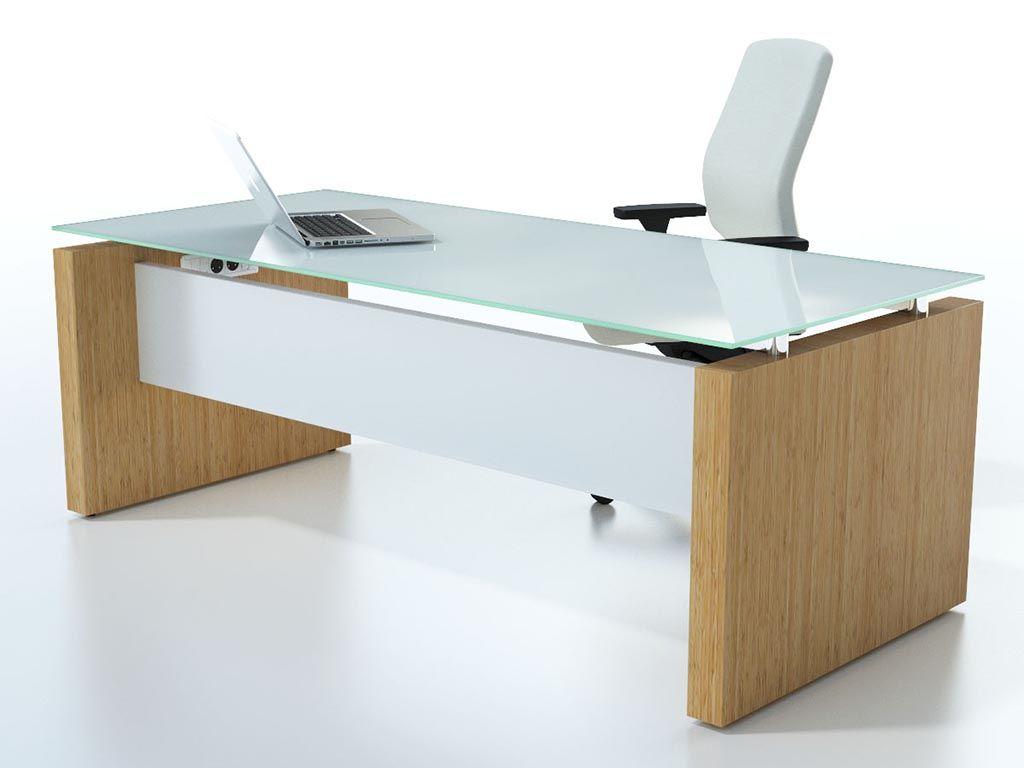 Glass Top Desk Google Search Office Furniture Modern Office