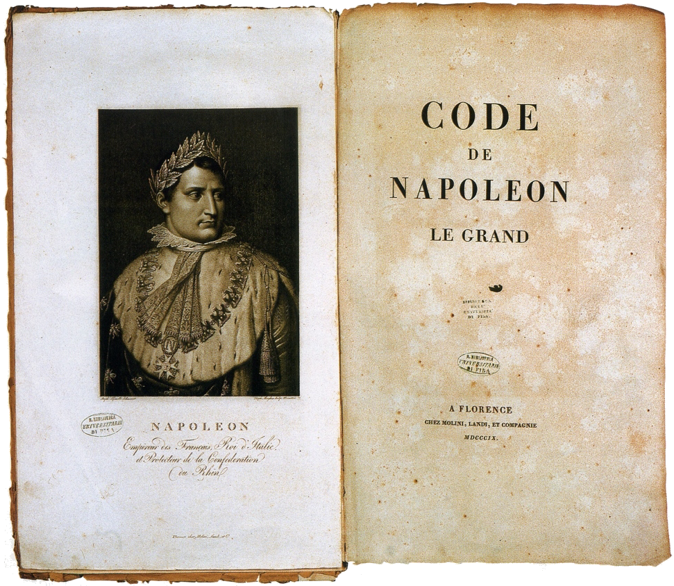 napoleonic code the french civil code established under napoleon i in 1804 the code forbade. Black Bedroom Furniture Sets. Home Design Ideas