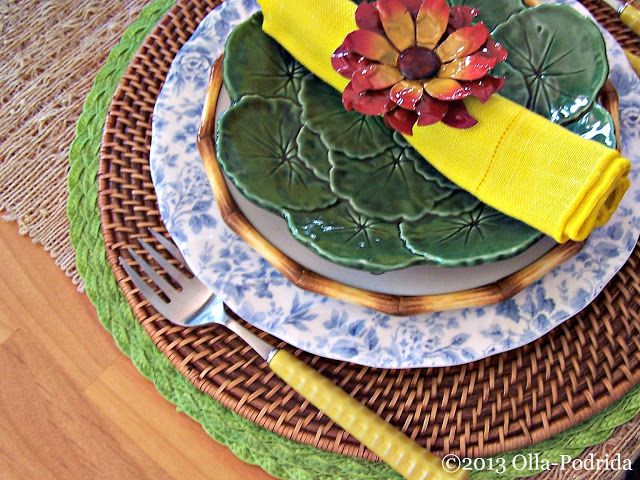 A Springtime Table