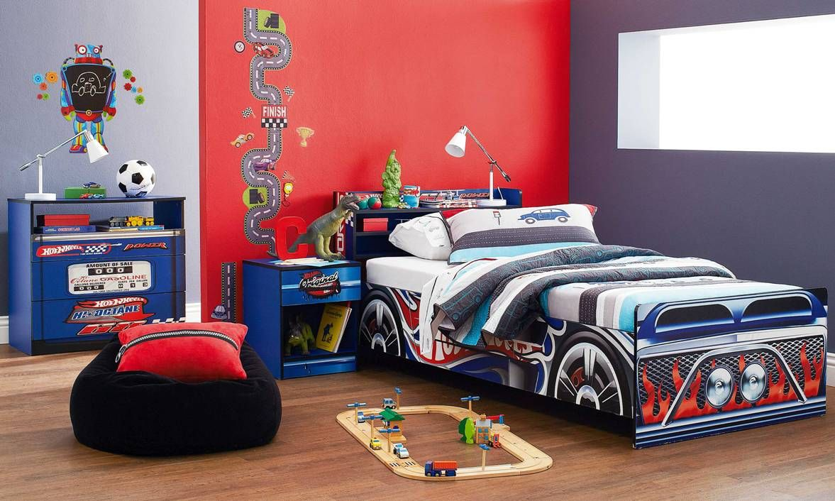 Merveilleux Hot Wheels Bedroom Furniture By Nero Furniture From Harvey Norman New  Zealand