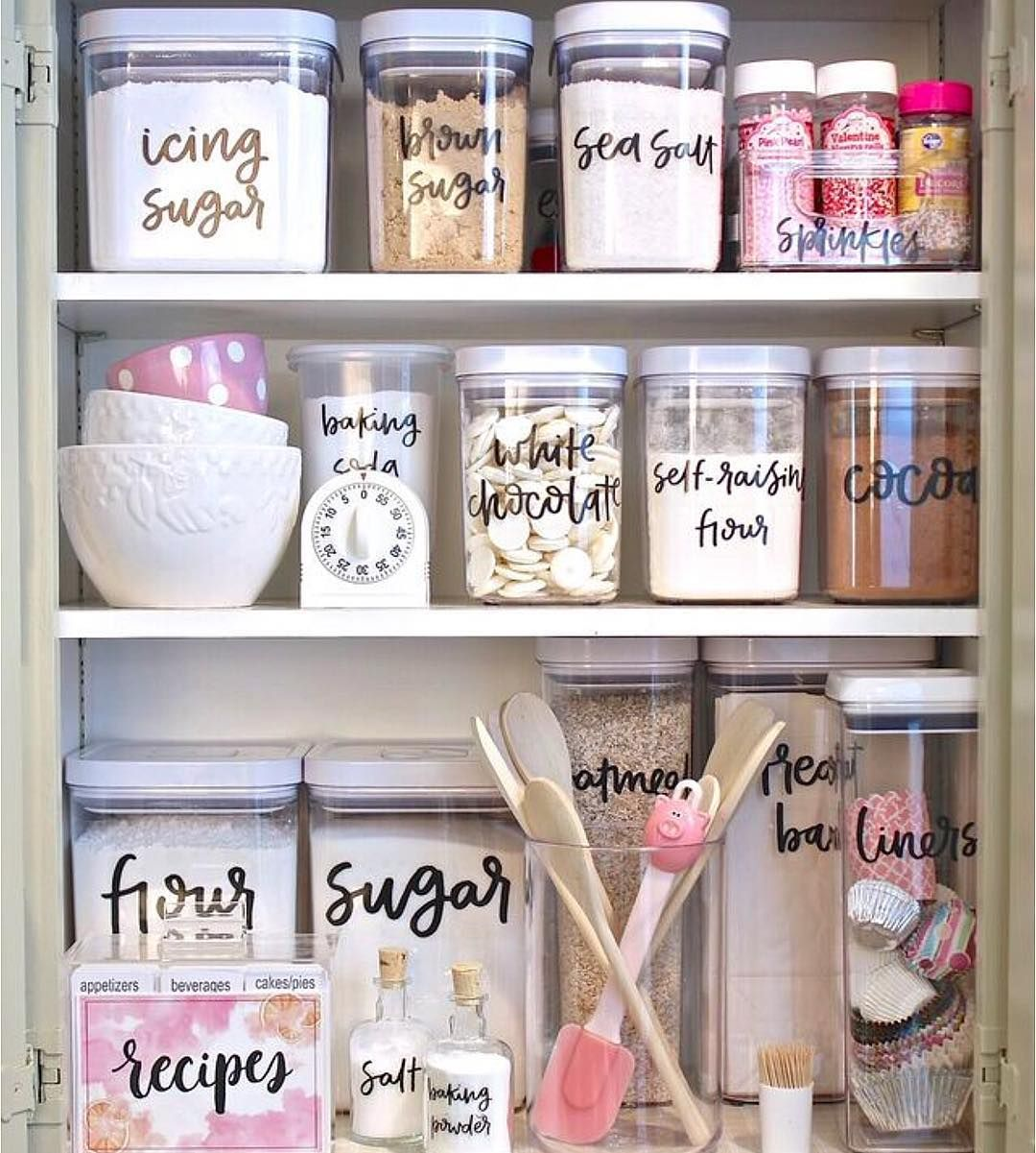 If You Have A Small Pantry Area Pulling Out All The