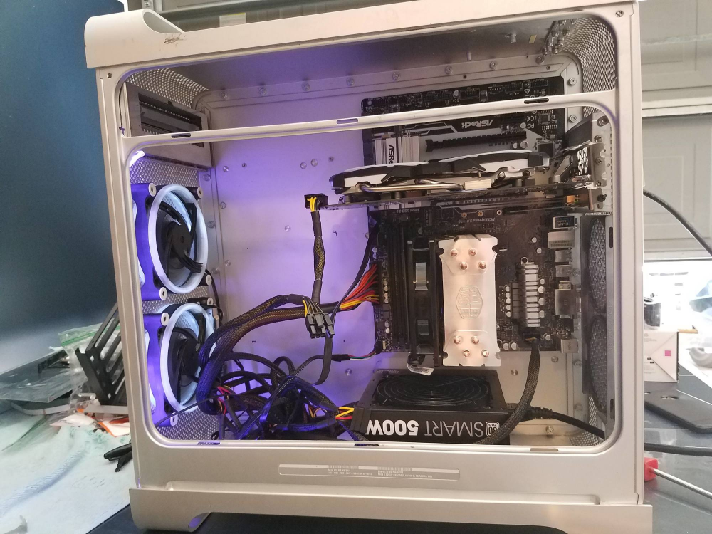 Mac G5 case atx build Case Modding and Other Mods