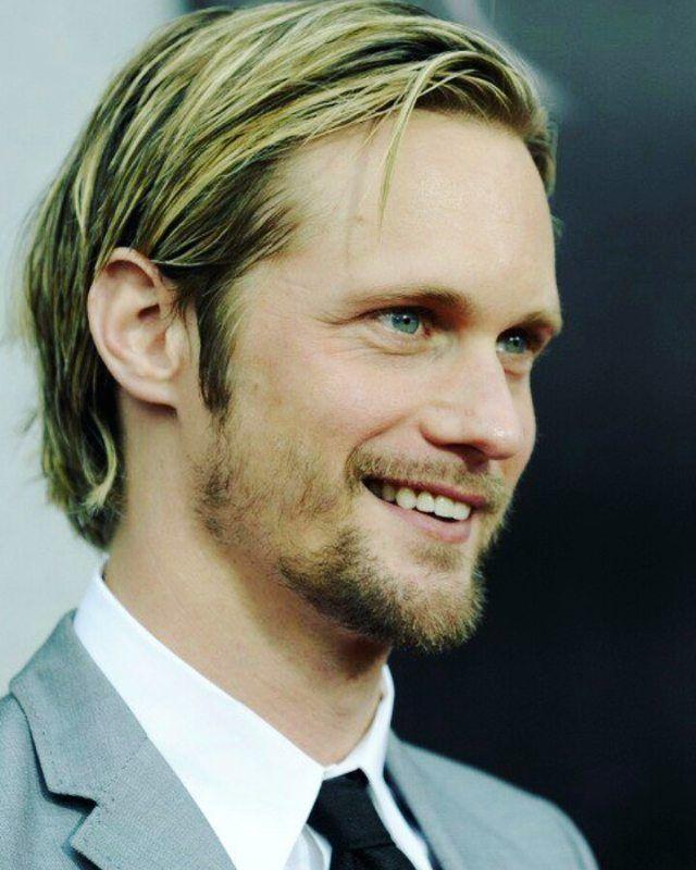 "Alexander Skarsgård Fan page (@stuckonskarsgard) on Instagram: ""That sweet, but sexy af smile  #alexanderskarsgård #skarsgard"