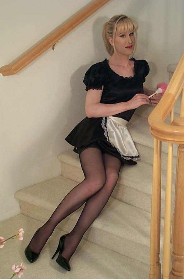 Nurse analsex in a garter belt and white stockings