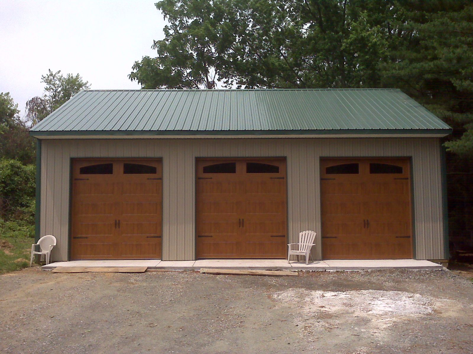 Pole Barn Design Ideas inspiration for a mid sized rustic exterior in philadelphia Pole Barns 30x40 Garage Kits Httpmetal Building Expertcom30x40 Metal Pole Barns Pinterest Car Garage Garage Prices And Home Ideas