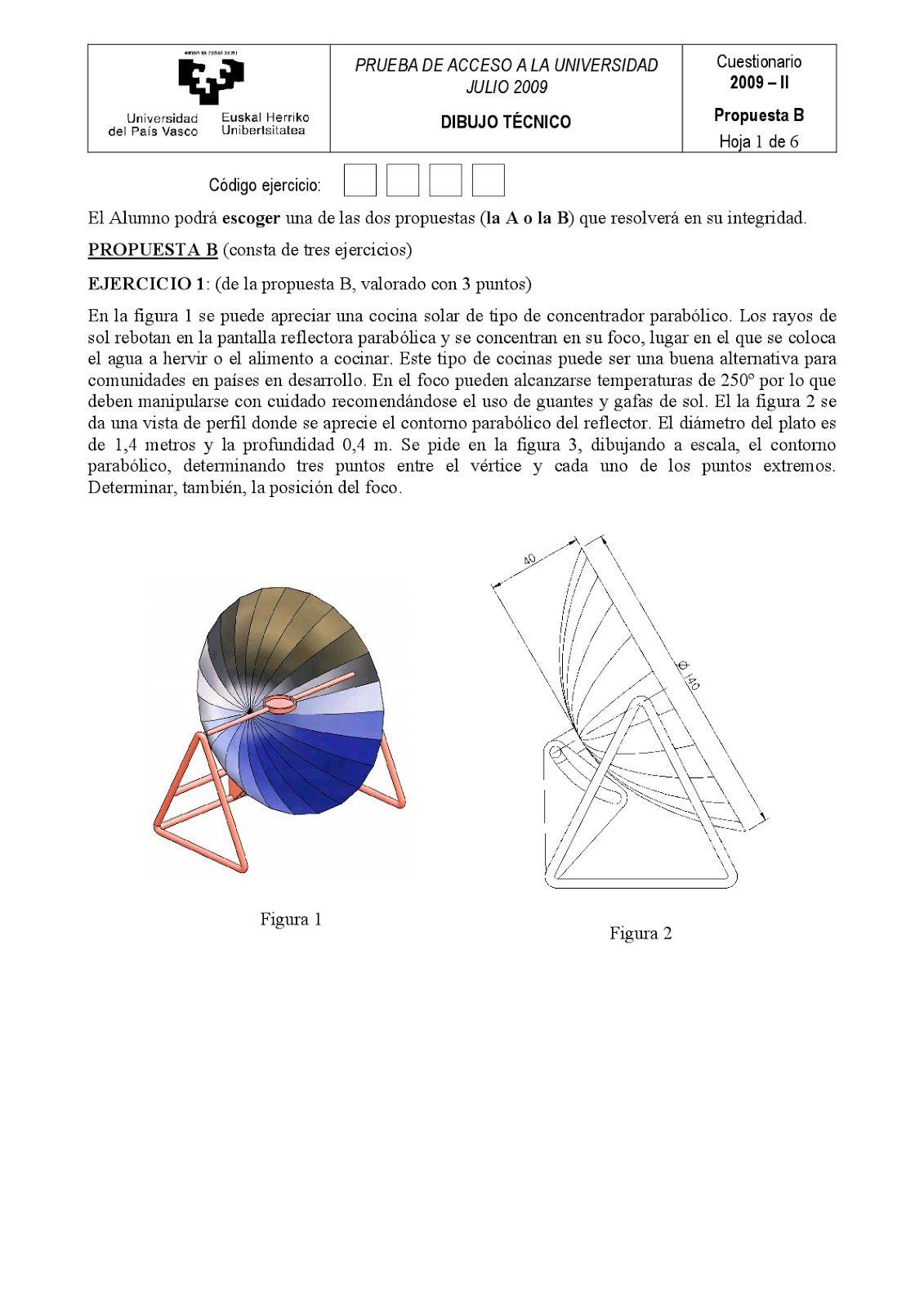 Examenes De Evaluacion Bachillerato Dibujo Tecnico Para El Acceso A La Universidad Ebau 2018 Convocatorias Junio Bachillerato Evaluacion Tecnicas De Dibujo