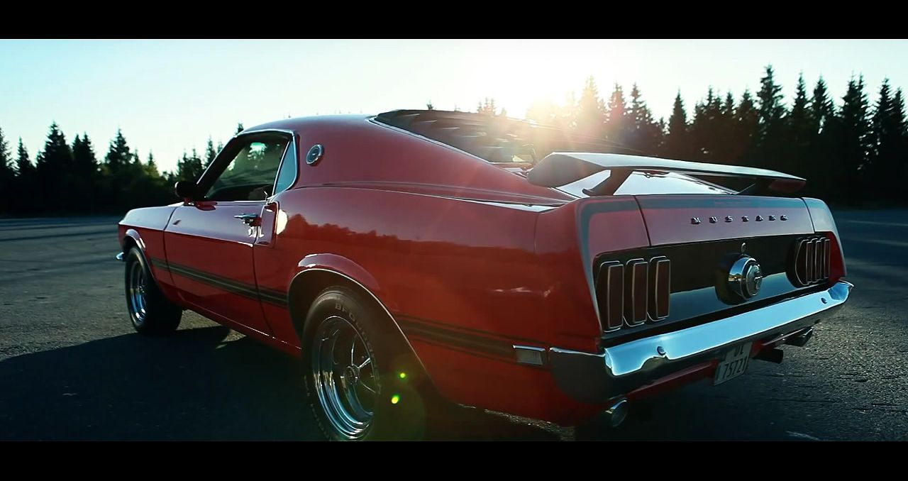 1969 Ford Mustang Mach 1 Awesome Video American Classic Cars