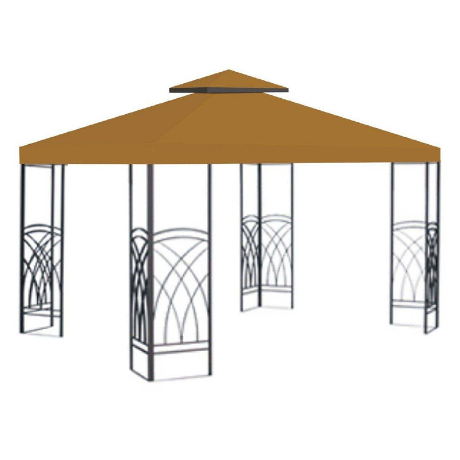 Sunrise 10 X 10 Ft Gazebo Replacement Double Tier Canopy Cover Gazebo Replacement Canopy Canopy Outdoor Replacement Canopy