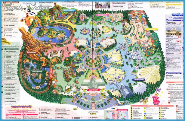 disney land orlando map Disney Park Map Disneyland Map Disney Park Maps Tokyo Disneyland disney land orlando map