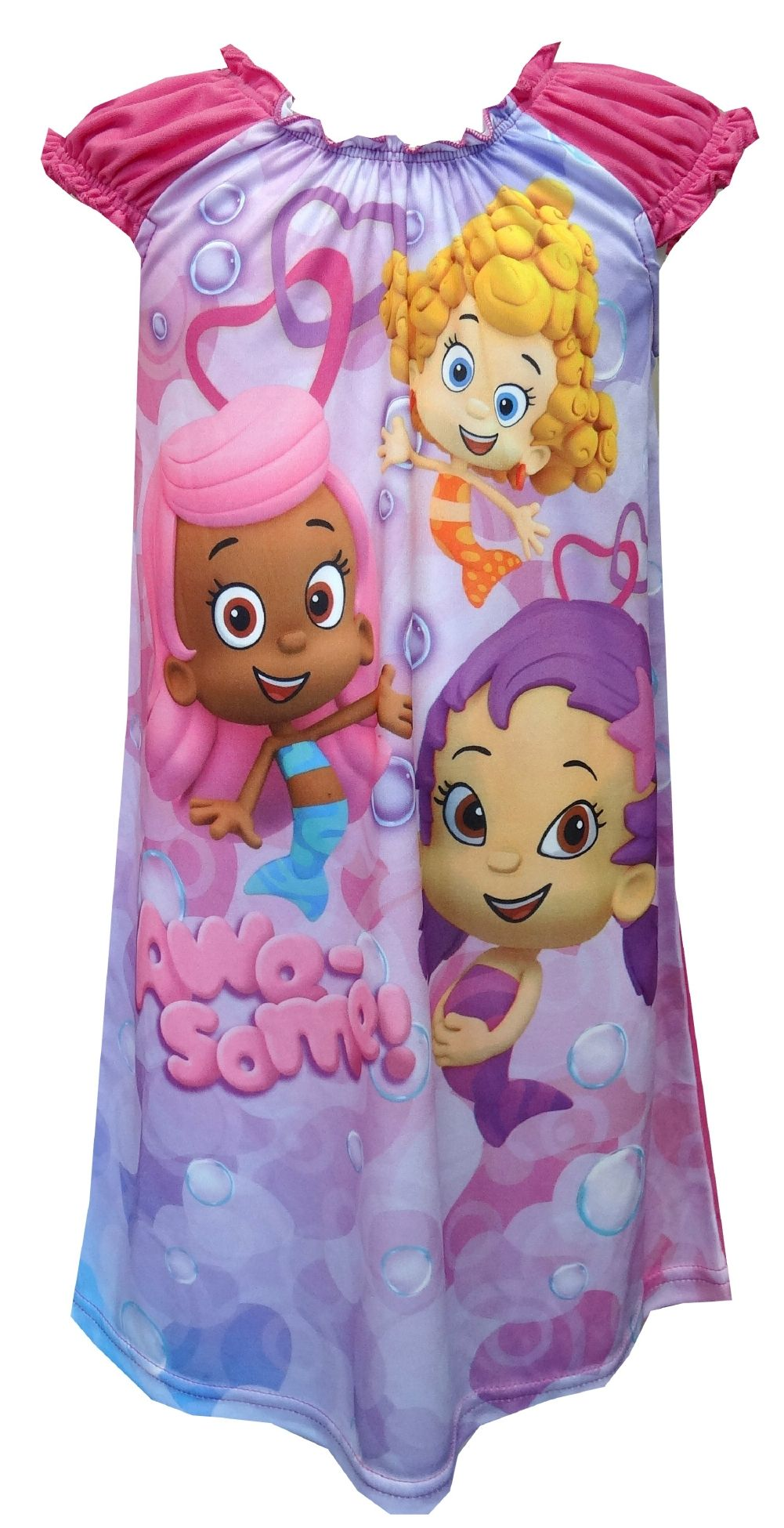 3b89babf8 Nickelodeon Bubble Guppies Pink Toddler Nightgown Time for some fun ...