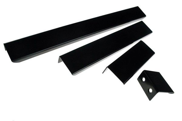 Attirant Handle That Fits On Top Of The Door Or Drawer To Give A Minimalist Look. Cabinet  Handles Available In Matt Black