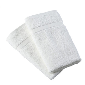 White 2 Pack Egyptian Cotton Hand Towel #handtowels