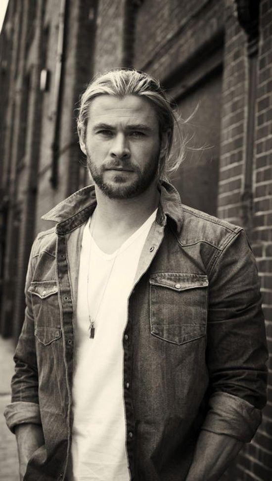 Chris Hemsworth Long Hairstyle Google Search Hemsworth Chris Hemsworth Chris Hemsworth Thor