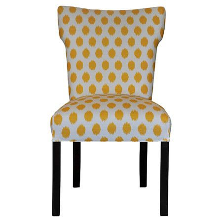 Bella Side Chair in Yellow (Set of 2)