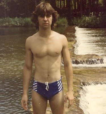 082fbdc868 Bulge Speedo Swimsuit Bathing Suit Beach Man Gay Int Photo College Boy  Athlete | eBay