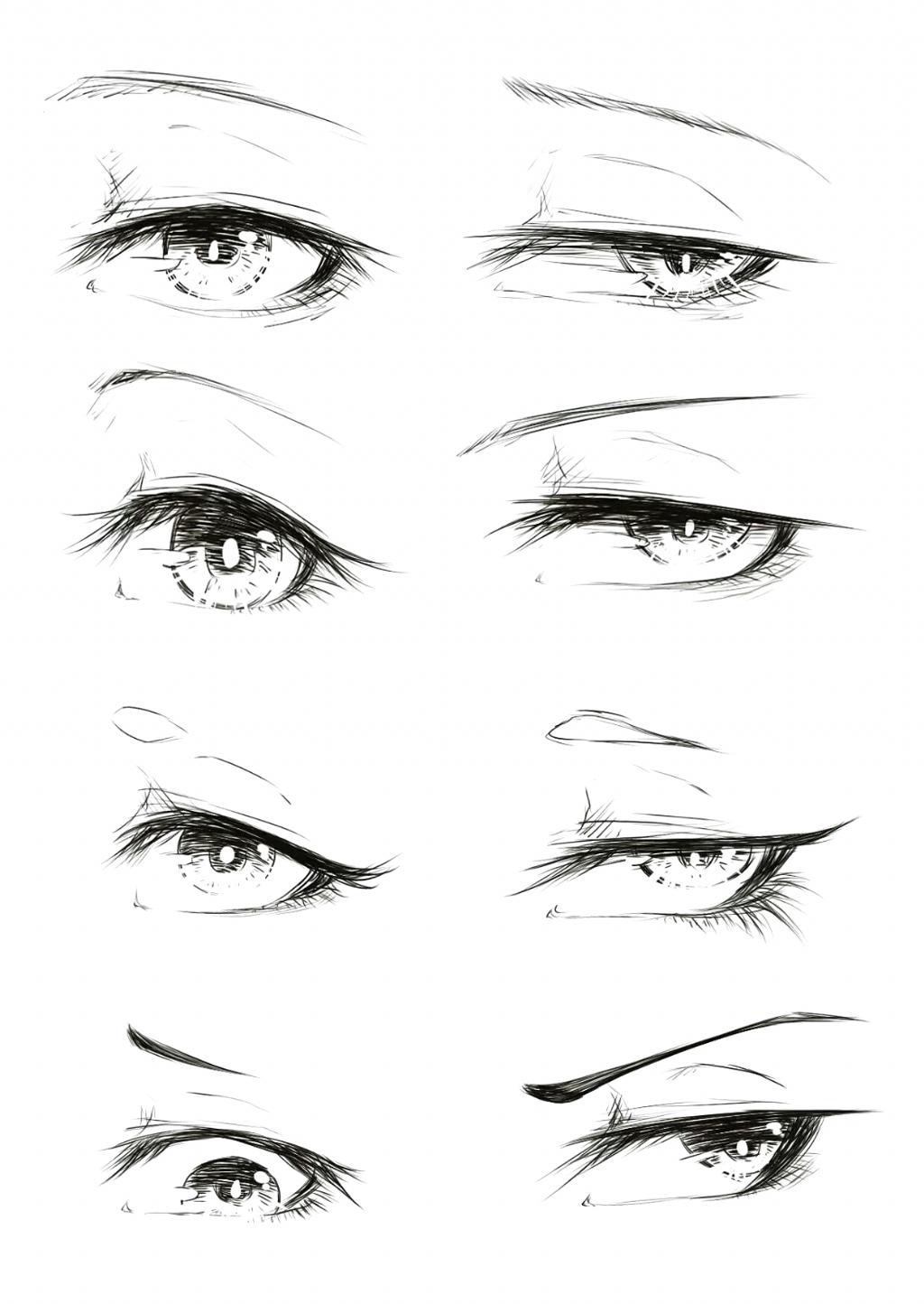 Gulay Yildirim Anime Eye Drawing Anime Drawings Sketches Anime Drawings Tutorials