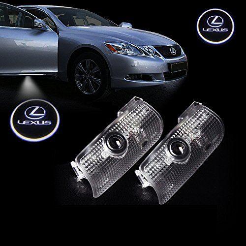 Hn 2pcs Car Door Led Light Hd Shadow Light Logo For Lexus Door Light Logo No Drilling Required Lexus No Drilling N Lexus Logo Lexus Parts And Accessories