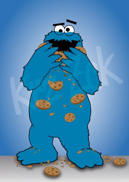 Cookie Monster Fan Art Zckorecartoons More Http Pinterest Com Zck017 Zckorecartoons Monster Cookies Cartoon Fan Art