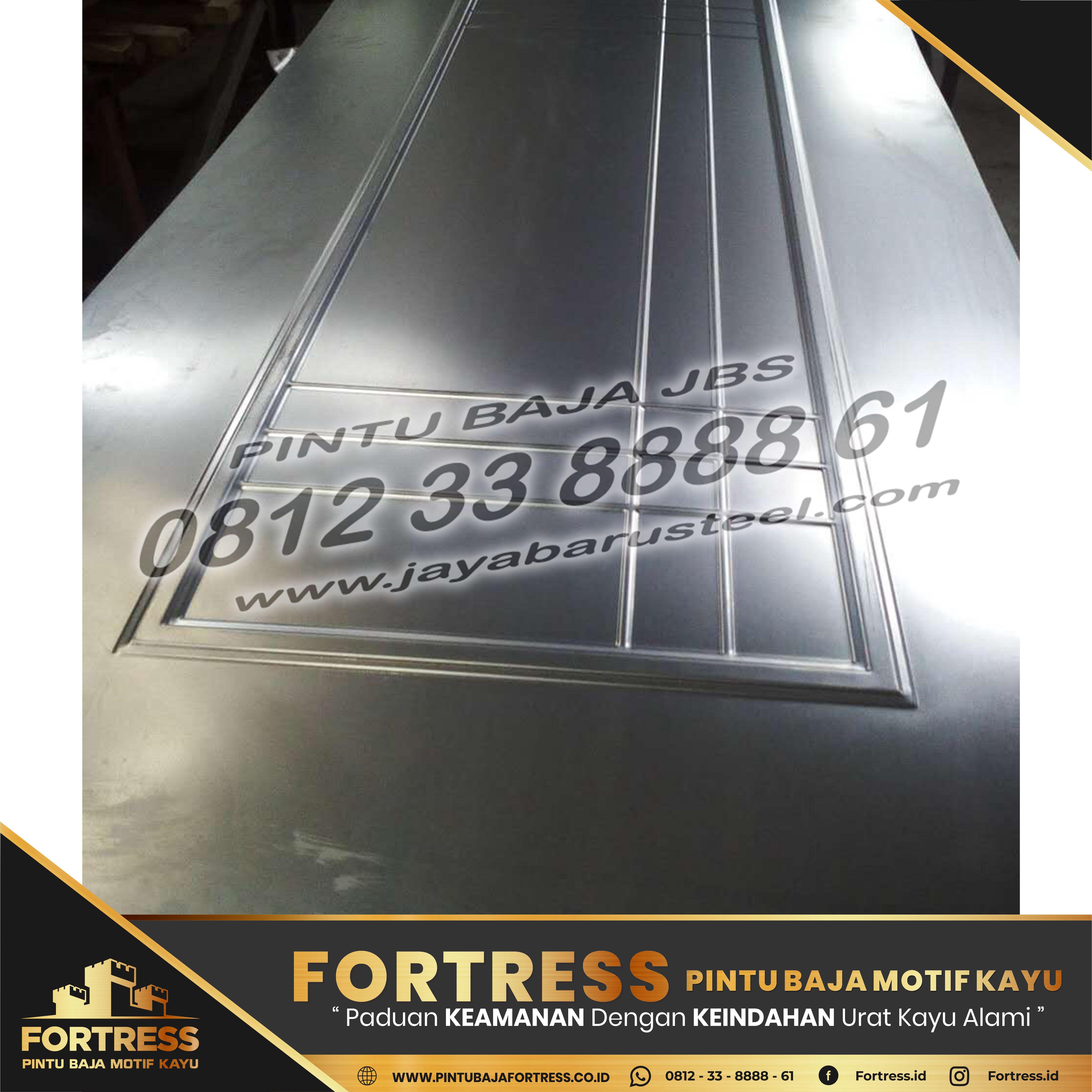 0812-91-6261-07 (FORTRESS) Pekan Baru Steel Panel Doors
