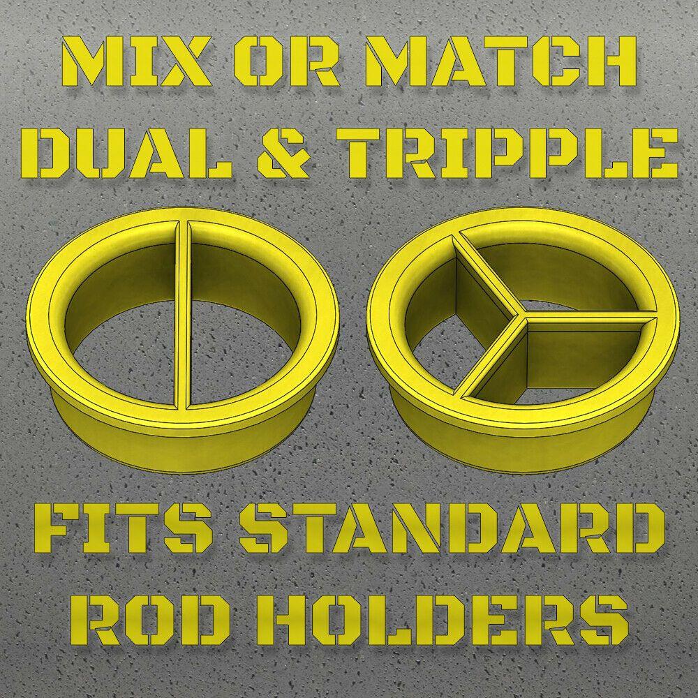 TIG Rod Organizer Insert DW/'s Filler Rod Divider Fits 36/'/' Tubes Welding USA