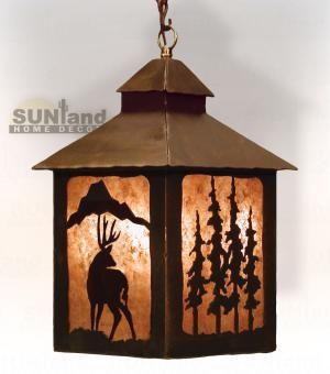 Iwllp 1025 Lantern Pendant Light Fixture Deer Cm With Images Pendant Light Pendant Light Fixtures Lanterns