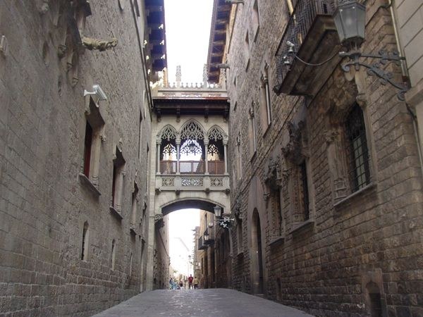 Gothic Quarter Barcelona Spain I Can Just Hear The Spanish Guitars Strumming Through The Streets Now
