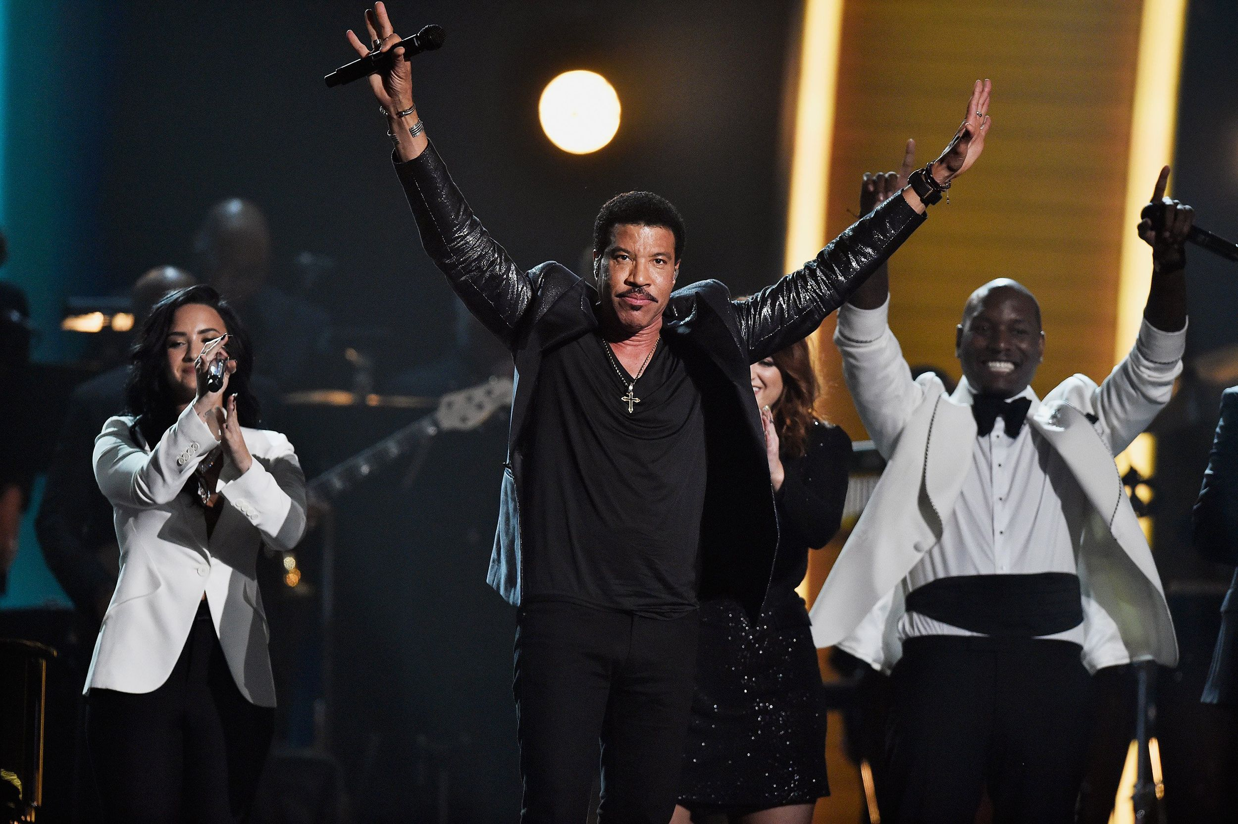 All Star Lionel Richie Tribute At Grammys Features John Legend Meghan Trainor Meghan Trainor Lionel Richie Grammy