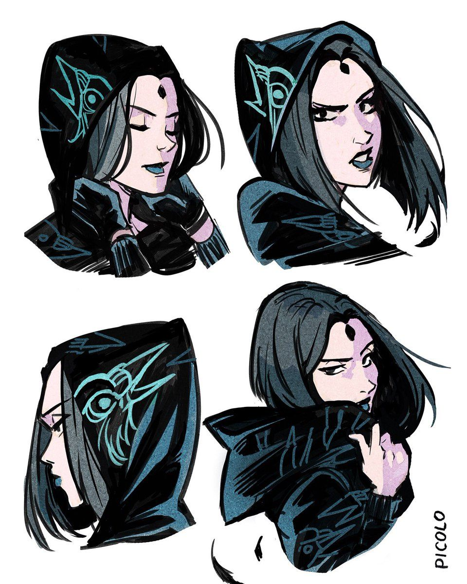 Raven shrine teen titans casually come