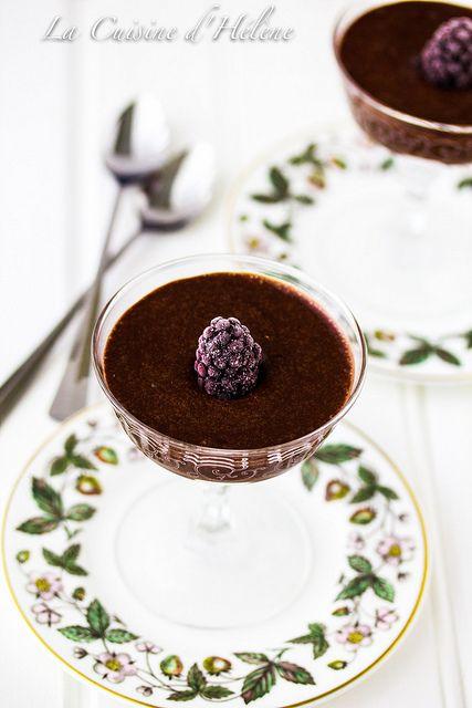 Chocolate Mousse - Julia Child JC100 - Mousseline au chocolat by LaCuisineHélène, via Flickr