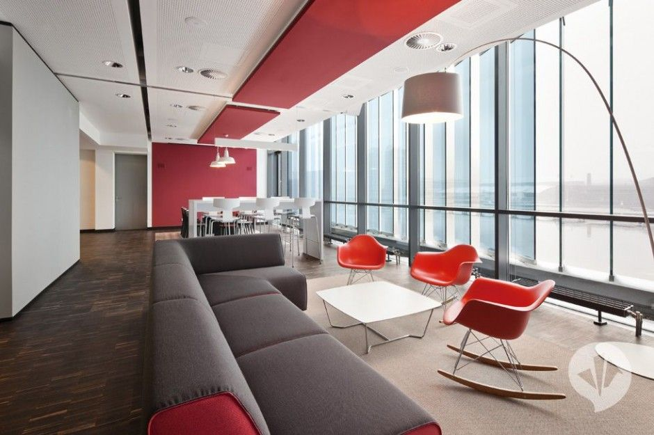 office lounge design. MTV Networks Headquarters In Berlin Design By Dan Pearlman - Architecture \u0026 Interior Ideas And Office Lounge