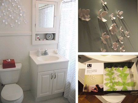 Bathroom Wall Decorating Ideas look! wallflower wall décor from umbra | complete bathrooms