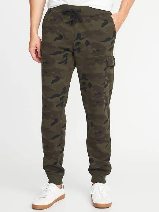 9763d4f305bad Old Navy Camo Cargo Joggers for Men | Products | Mens joggers, Old ...