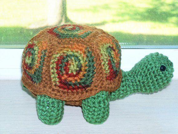 Amigurumi Turtle Doll – Autumn Leaves -Turtle With Removable Shell,  #Amigurumi #amigurumitur…