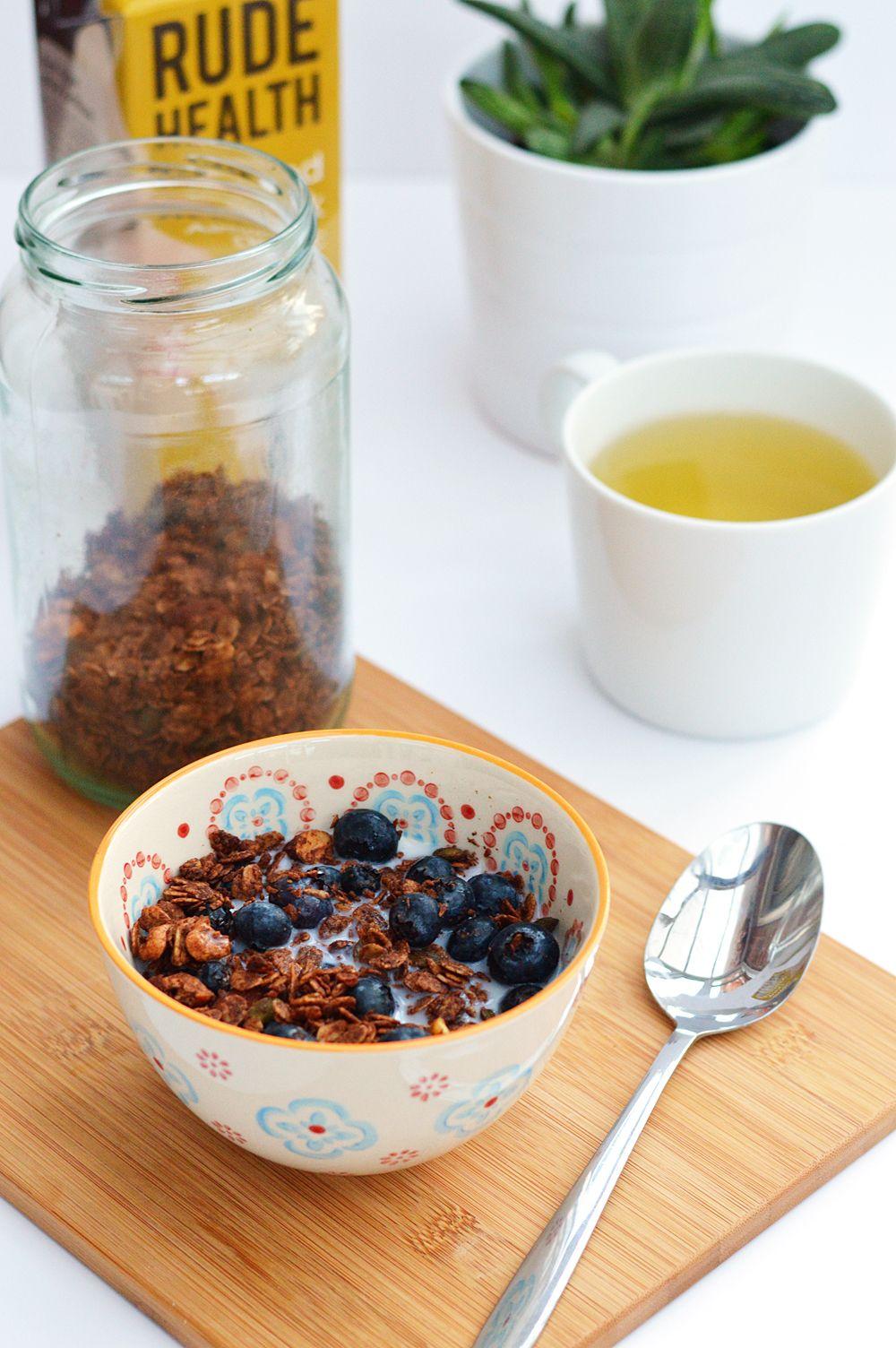 Chocolate Tahini Granola | Recipe | Refined sugar free ...