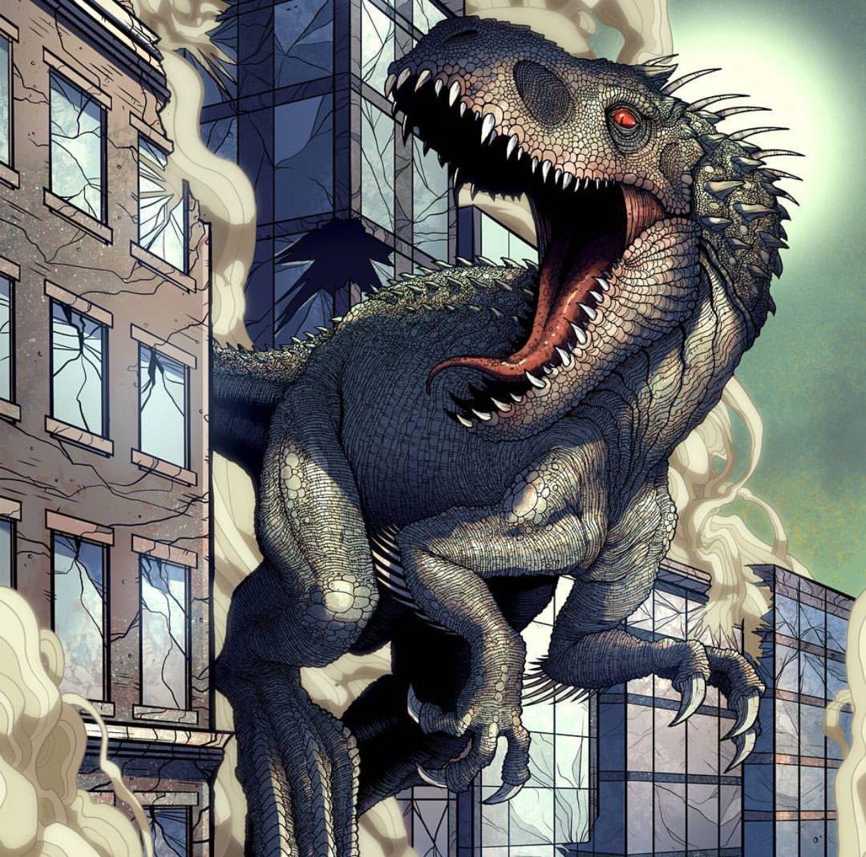 Indominusrex Jurassic world dinosaurs, Jurassic world