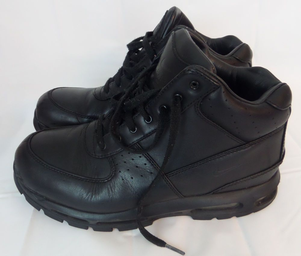 Nike ACG Air Max Goadome Black Boots Sneakers Size 11.5 Lace